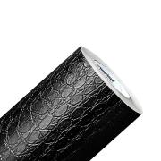 Adesivo Envelopamento Textura Couro Cobra Croco