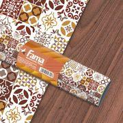Adesivo Texturizado Azulejo para Revestimento de Paredes e Móveis -  Lisboa Marrom