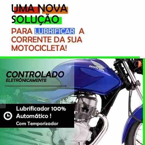 Lubrificante Automático Corrente Moto In-lub 12v Todasmarcas