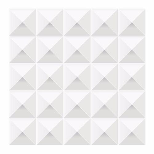 Rolo de Adesivo de Parede Decorativo Geometrico 3D - 5,0 x 0,50 m