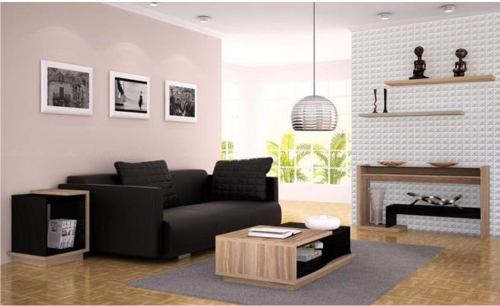 Adesivo de Parede Decorativo Geometrico 3D - 100 x 50 cm