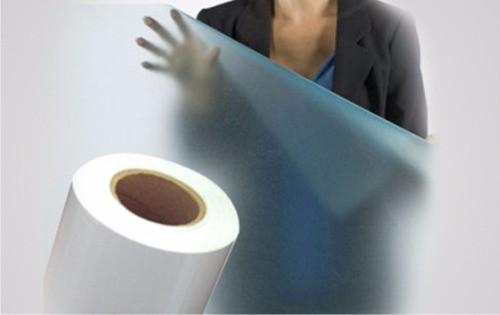 Adesivo Decorativo Jateado para Vidro - Box, Janelas e Portas - Largura de 50 cm