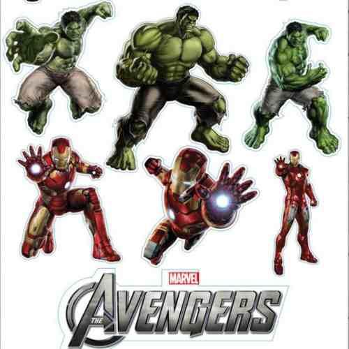 Cartela Adesivos Minions, Vingadores, Pooh, Barbie E Mais!