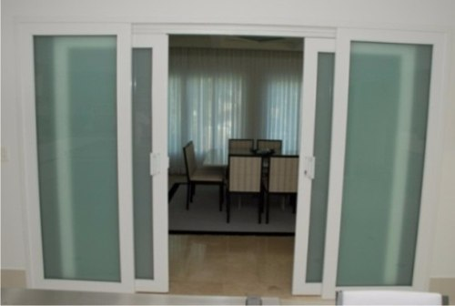 Adesivo Decorativo Jateado para Vidro - Box, Janelas e Portas - Largura de 1m