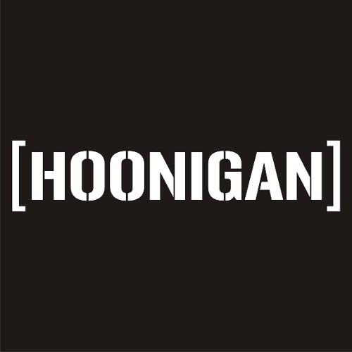 Adesivo Tuning Hoonigan - 16 x 3,4 cm
