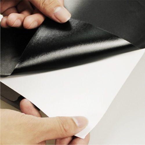 Adesivo Lousa Quadro Negro, Preto Fosco, 100 x 100 cm + 4 Giz