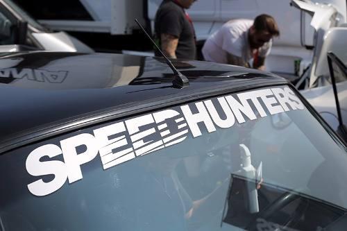 Adesivo Parabrisa Speed Hunters - 90x11 Cm