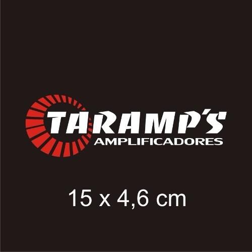 Adesivo Taramps para Carro, Vidro ou Lataria - 15 x 4,6 cm