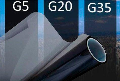 Insulfilm Automotivo e Residencial G5, G20 e G35 - 1,0 x 0,50 m