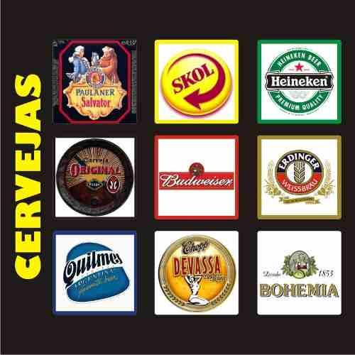 Placas Decorativas Retrô Vintage Cerveja Bar - Frete Grátis