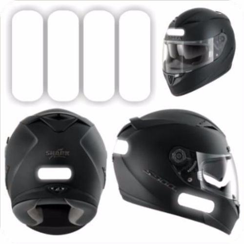 Adesivo Refletivo P/ Capacete, Moto, Carro E Bicicleta