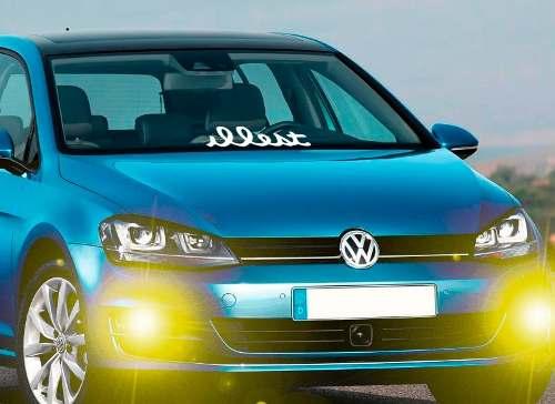 Adesivo Carro Rebaixado, Tuning, Suspensão, Fixa, Euro, Turbo entre outros