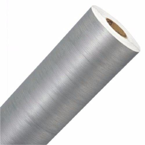 Adesivo Aço Escovado Inox P/ Geladeira Moveis E Carros - 100 x 50 cm
