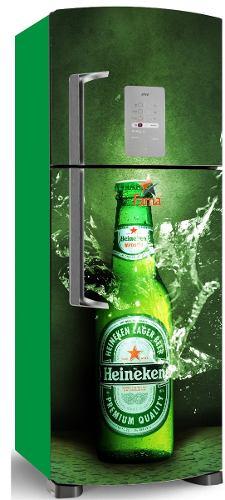 Adesivo Decorativo p/ Envelopamento de Geladeira E Freezer - Frente e Laterais