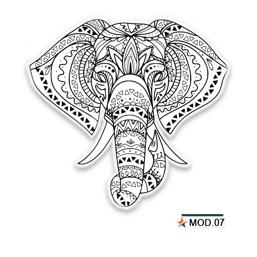 Adesivo Decorativo Mandala 60 x 60 cm