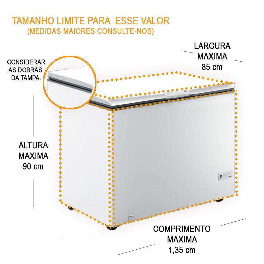 Adesivo Decorativo para Envelopamento Total de Freezer - Completa com Imagem