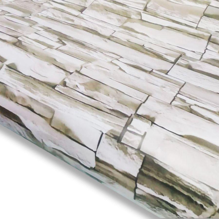 Adesivo Decorativo para Parede Pedra Canjiquinha - 250 x 260 cm
