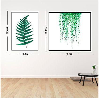 Adesivo Decorativo para Parede  Folhas