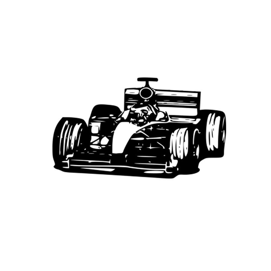 Adesivo Decorativo Parede Carro Formula 1