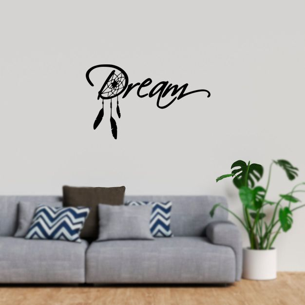 Adesivo Decorativo Parede Dream - Sonhe