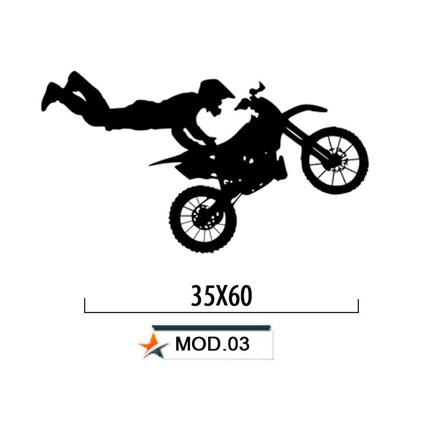 Adesivo Decorativo Parede Moto