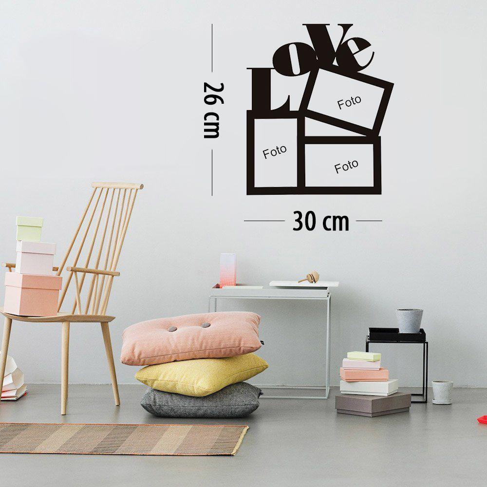 Adesivo Decorativo Porta Retrato - Diversos modelos pequeno