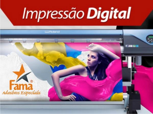 Adesivo Impressão Digital