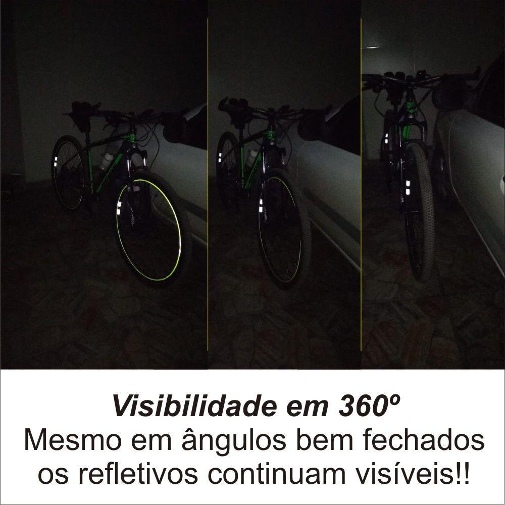 Adesivo Refletivo para Roda de Bicicleta ReflexBike 360