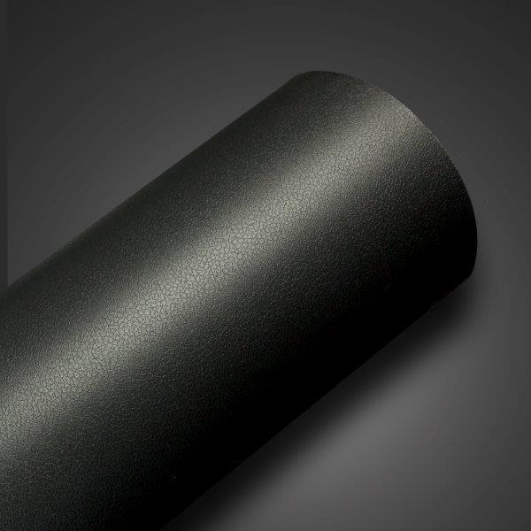 Adesivo Texturizado em Couro - Corino Preto