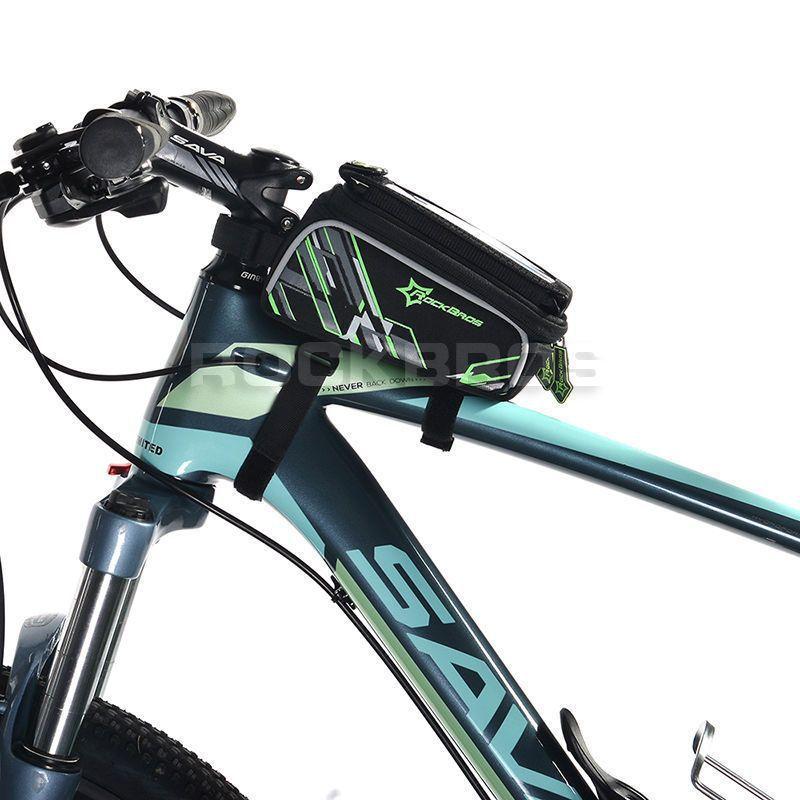 Bolsa bike P/ Quadro Bicicleta Rockbros porta Celular
