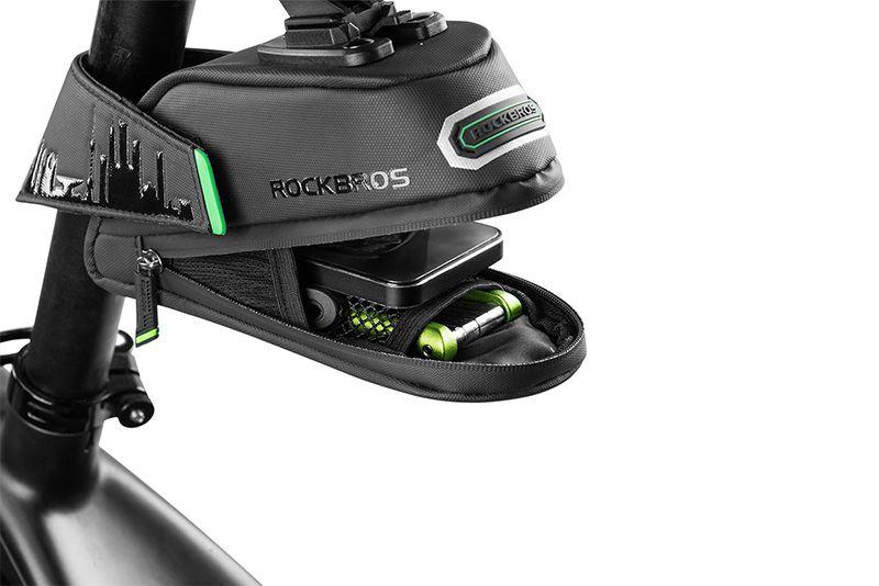 Bolsa Case Para Bike Selim Rockbros Saddle Encaixe Rápido