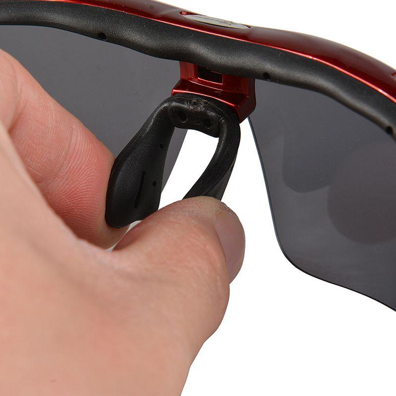 Óculos Ciclismo Rockbros 5 Lentes Uv 1 Polarizada bike case