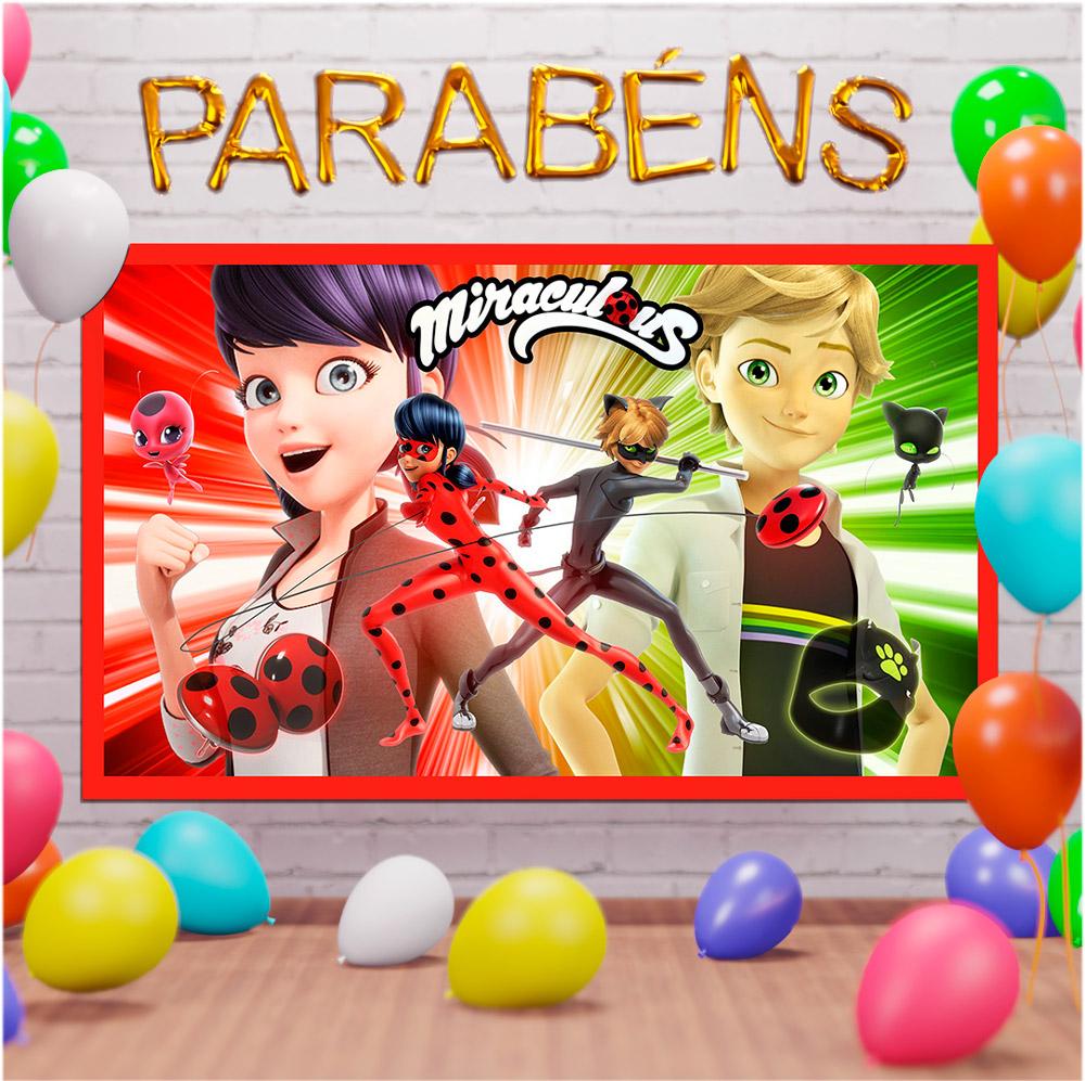 Painel, Lona infantil para festas - diversos temas