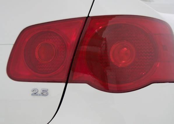 Pelicula Adesivo P/ Lanterna E Farol - Vermelha