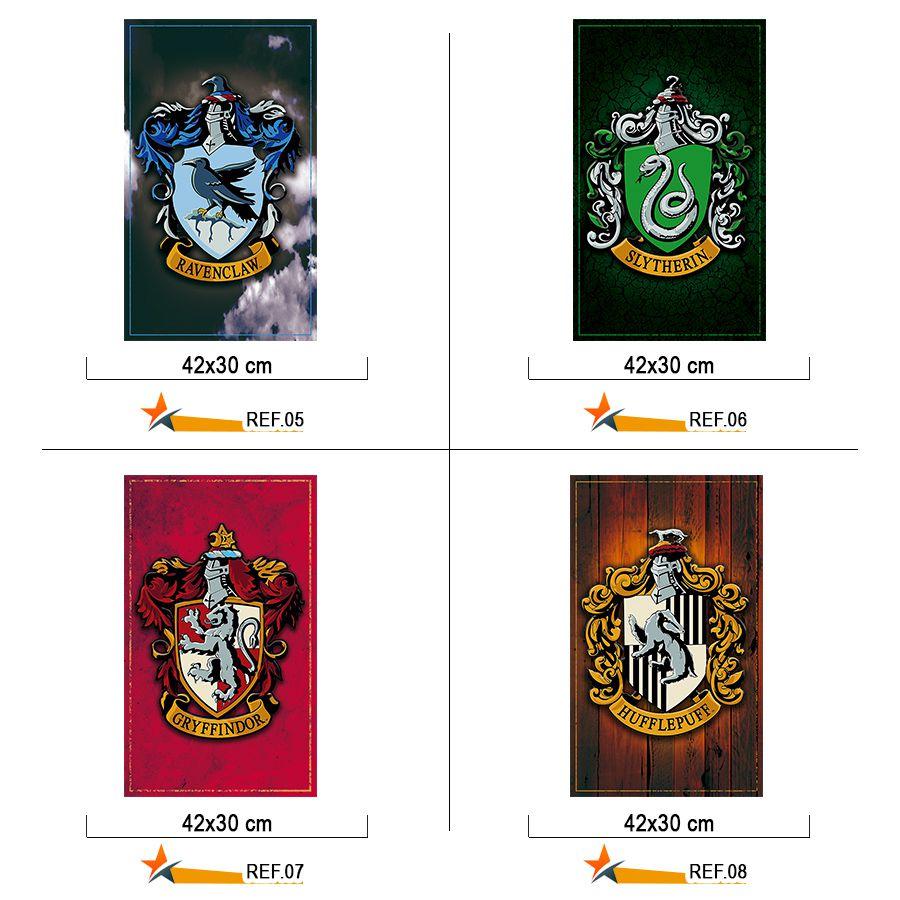 Placa Decorativa Quadro Harry Potter 30 x 40 cm