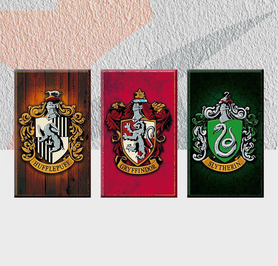Placas Decorativas para Parede Harry Potter