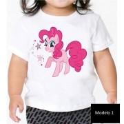 Camisa Personalizada My Little Pony e Moranguinho ♡ ♡