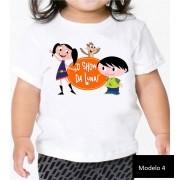 Camisa Personalizada Show da Luna e Kids ♡ ♡