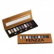 Paleta de Sombras Foscas 10 Cores Fenzza SO21 | PRONTA ENTREGA ♡ ♡