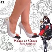 Sandália Rainha de Copas Luxo Pedraria | FRETE GRÁTIS ♡ ♡