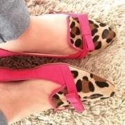 Mocassim Pink com Onça | PRONTA ENTREGA ♡ ♡