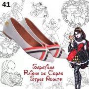 Sapatilha Rainha de Copas Style  #9825; ♡
