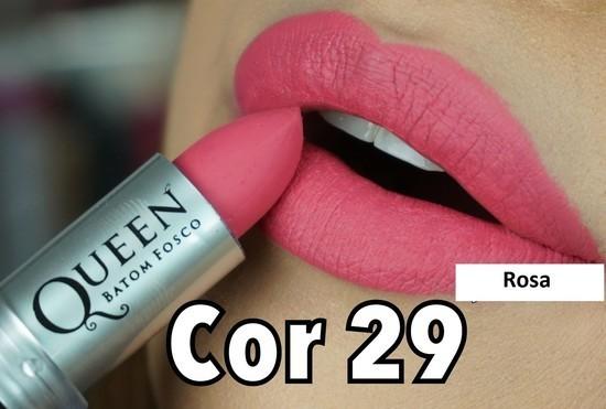 Batom Bala Fosco Queen Make Up | PRONTA ENTREGA ♡ ♡