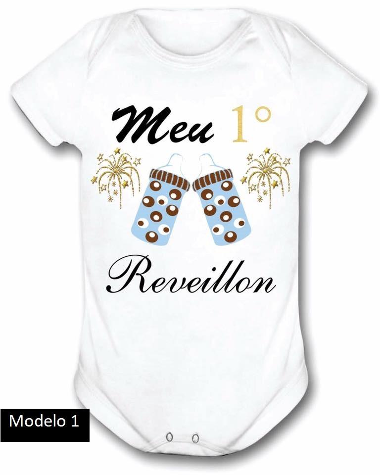 Body Personalizado Meu 1° Reveillon | Natal ♡ ♡