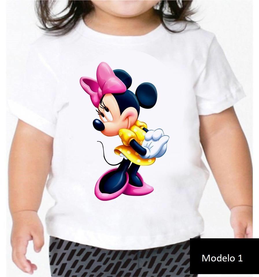 Camisa Personalizada Minie Mouse   9825  ... b123019c65fee
