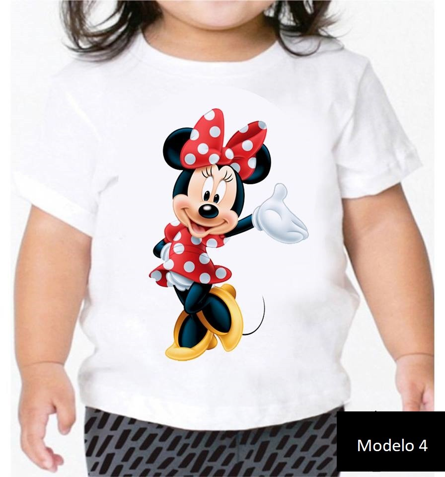 Camisa Personalizada Minie Mouse ♡ ♡