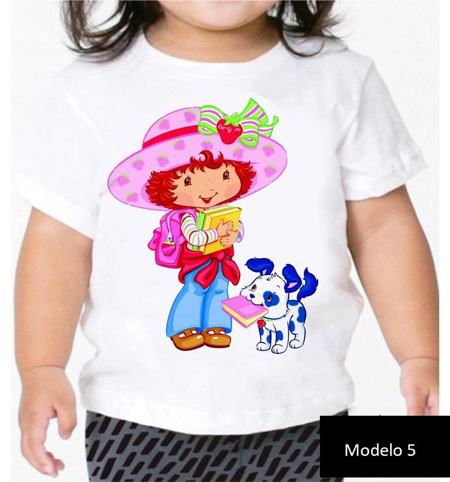 Camisa Personalizada My Little Pony e Moranguinho ♡ ♡