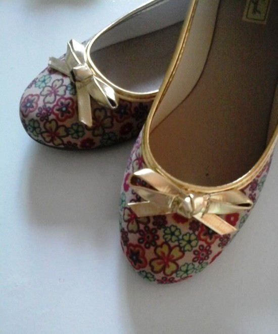Sapatilha Floral | PRONTA ENTREGA ♡ ♡