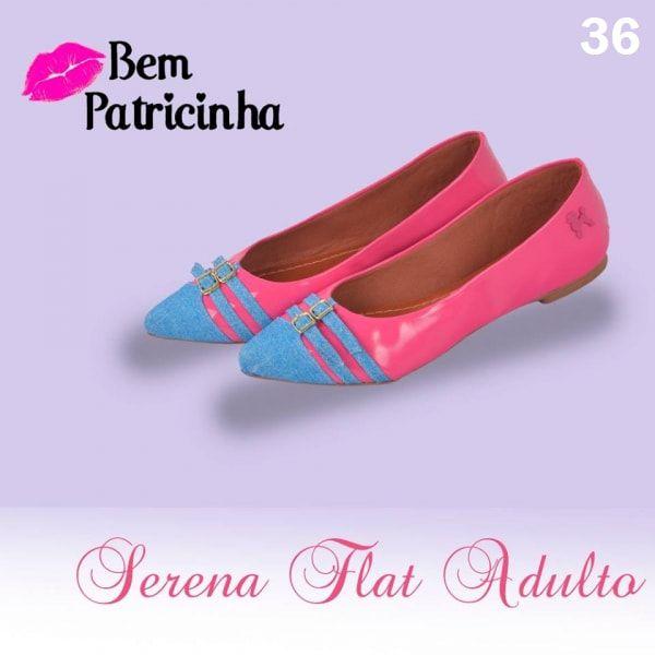 Sapatilha Serena Flat | Bem Patricinha ♡ ♡