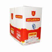 CABO LAN CAT5E 100% COBRE 305M CMX MEGATRON